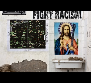 Jesus hates racism