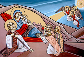 Coptic nativity icon