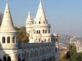 The Fisherman's Bastion during the day.
