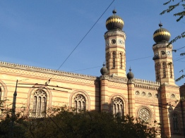 The Great Synagogue in Budapest.